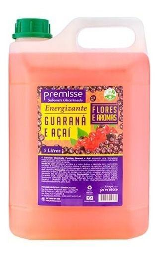 Sabonete Líquido Premisse Guarana E Açai - 5 Litros Mãos