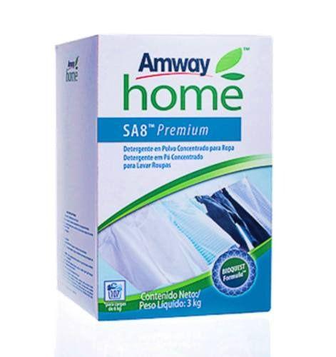Sa8 Premium Sabão Em Pó Concentrado Para Lavar Roupa 3kg 1un - Rende 30 Caixas