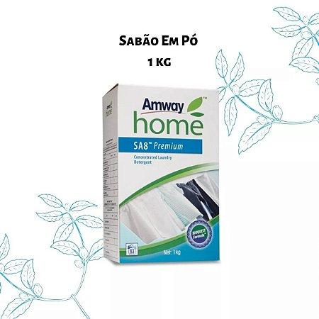Sa8 Premium Sabão Detergente Em Pó Concentrado 1kg Amway - Rende 36 Lavagens