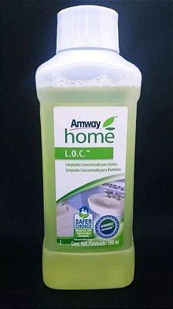 Loc Limpador Concentrado Para Banheiro - Remove Limo - Rende 4 Frascos Spray