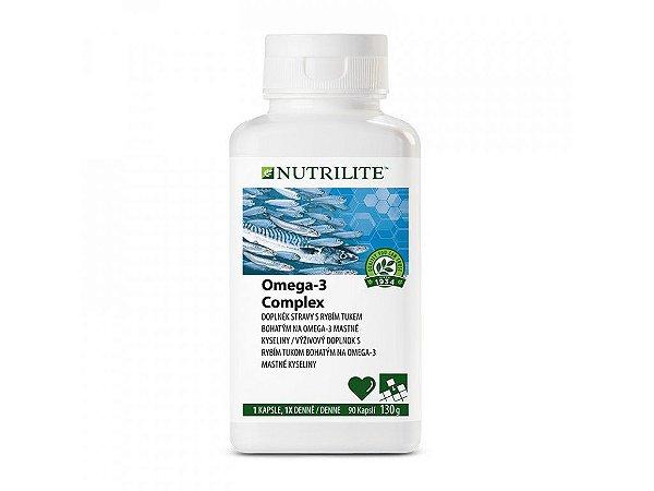 Ômega 3 Amway Mais Vitamina E 90 Cápsulas Força Nutrilite Óleo de Peixes Natural
