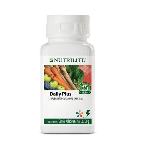 Eua Daily Plus 90 Tablete Suplemento Vitaminas Nutrilite
