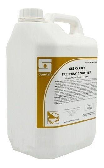 Sse Carpet Removedor De Manchas Tecidos - 5l Tecido Spartan