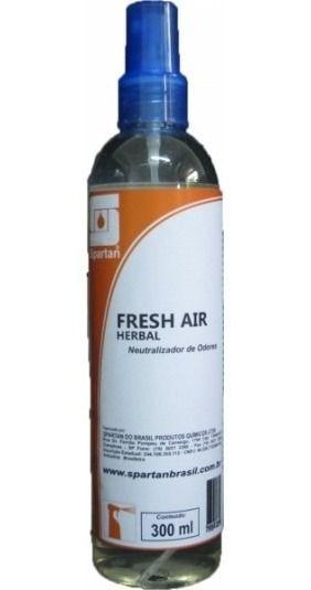 Fresh Air Herbal Eliminador De Odores Longa Duração Spartan