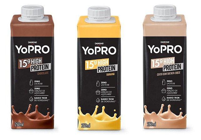 Yopro Danone 14g High Protein 250ml Calcio Zero Lactose Fit