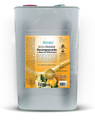 Removedor Desengraxante A Base De D Limoneno Eco Orange 5l