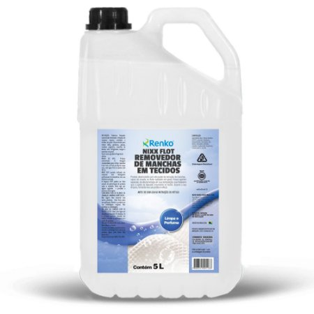 Removedor De Manchas Em Tecidos Nixx Flot 5l Renko Flotação