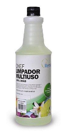 Chef Limpador Multiuso Lima Limão 1 L Renko Desengordurante
