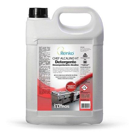 Detergente Desengordurante Alcalino Chef 5 Litros Renko 5l