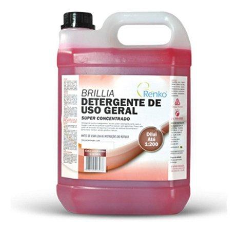 Detergente Super concentrado Brillia Renko 5 Litros Louças