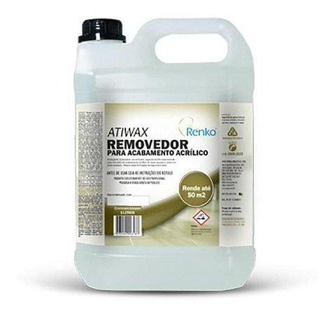 Removedor Para Acabamento Acrílico Atiwax 5l Renko