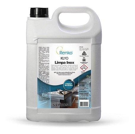 Klyo Limpa Inox 5 Litros Renko - Para Superfícies Cromadas