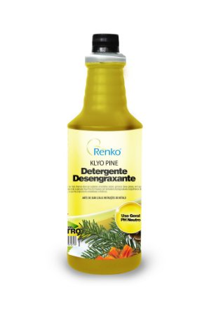 Detergente Desengraxante Gel Klyo Pine 1L Pinho Neutro Renko