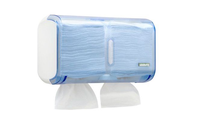 Porta Papel Higienico Tipo Cai Cai Dispenser Acrilico Premisse Urban Azul