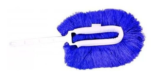 Espanador Eletrostático Azul - Bralimpia para Limpeza Seca