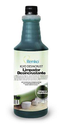 Limpador Desincrustante Klyo Renko 1l - Remove Ferrugem Vaso