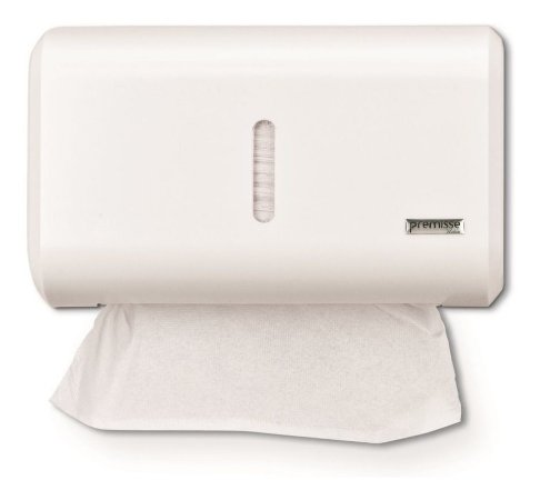Porta Papel Toalha Compacto Dispenser Branco Premisse