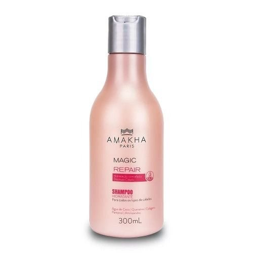 Shampoo Magic Repair Amakha Paris 300ml Desmaia Cabelo