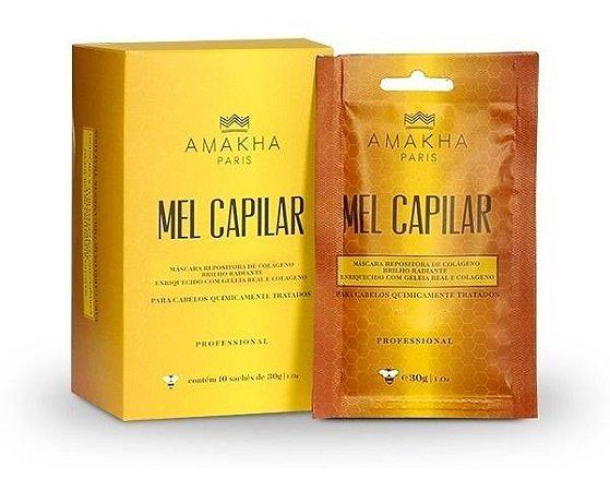 Mel Capilar Sache Caixa C/ 10 Unidades 300 Gramas Amakha Top