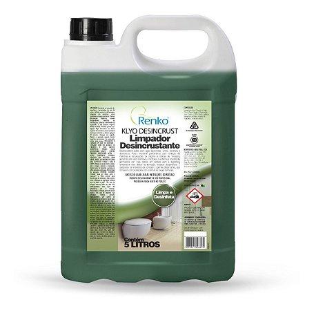 Limpador Desincrustante Klyo 5l Renko - Ação Bactericida