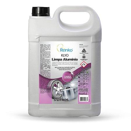 Limpa Aluminio Klyo 5l Para Tira Manchas E Restauração Renko