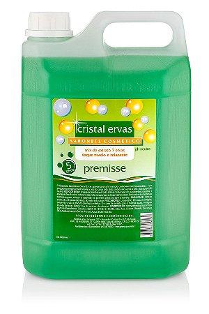 Sabonete Líquido Premisse De 5 Litros Aroma Cristal De Ervas