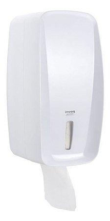 Dispenser Porta Papel Higiênico Cai Cai Branco Invoq Design