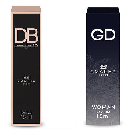 Kit Gd e Db Perfumes envolventes Amakha Paris Feminino