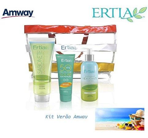 Kit Ertia Sun Verão Protetor Solar 50 + Verbana E Citrus Top