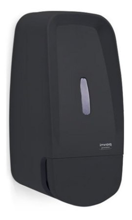 Saboneteira Dispenser Porta Sabonete Liquido Invoq Preta