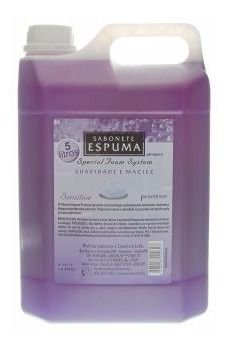 Sabonete Espuma Aroma De Sensitive Das Flores  5 Litros 1 Un