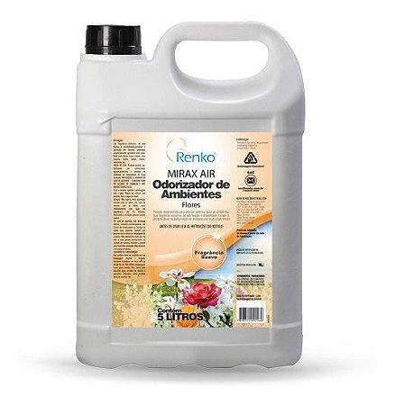 Odorizador Mirax Air Flores 5l- Renko Higienização Estofados