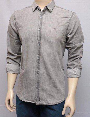 Camisa Manga Longa Indigo Black