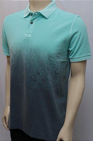 Camiseta polo piquet silkado