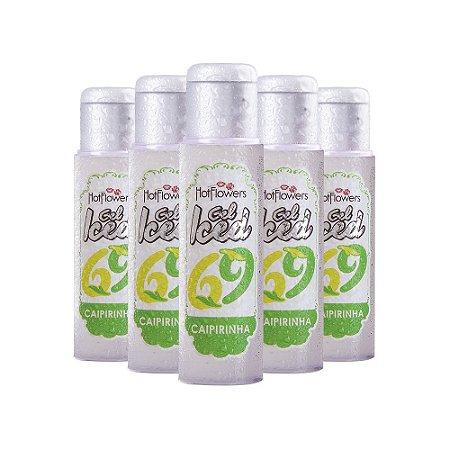 Gel Aromatizante ICED Caipirinha 35ml - Embalagem c/ 10 unid.