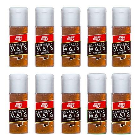 Kit Gel Comestível Scurrega Mais Whisky 15g - Emb. c/10und.