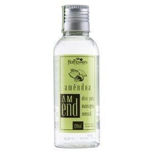 Óleo Para Massagem Amend 120ml Hot Flowers