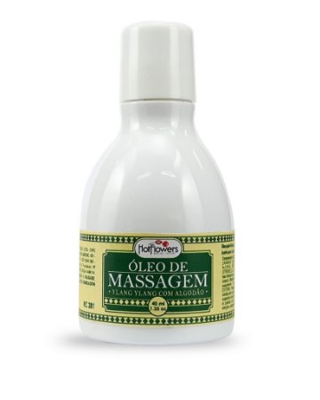 Óleo para Massagem Ylang Ylang com Algodão 40g