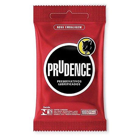 Prudence Tradicional Lubrificados 3 unidades.