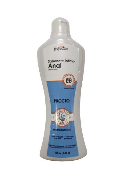 Sabonete Intimo Anal Lançamento HotFlowers 130ml