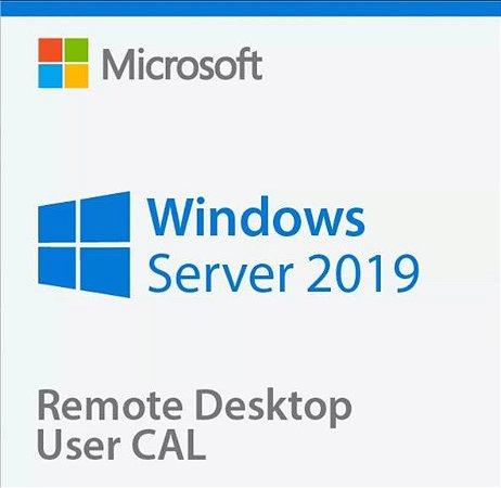 Pacote De 5 Cals De Usuário ou Dispositivos Para Windows Server 2019 / R2