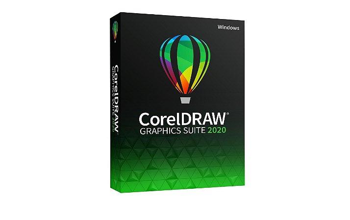 CorelDRAW Graphics Suite 2020 licença vitalícia para Windows
