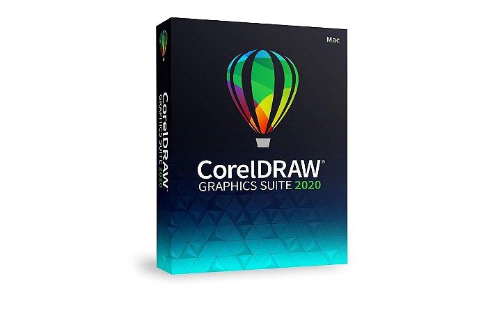 CorelDRAW Graphics Suite 2020 licença vitalícia para Mac