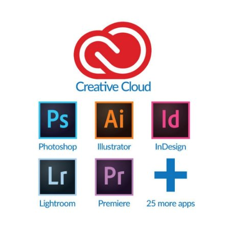 Adobe Creative Cloud 2020 Vitalício para Windows/MAC (Download)