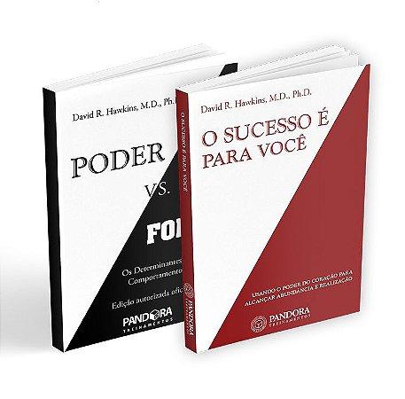 Combo de Sucesso! - Livros O Sucesso é Pra Você + Poder vs. Força