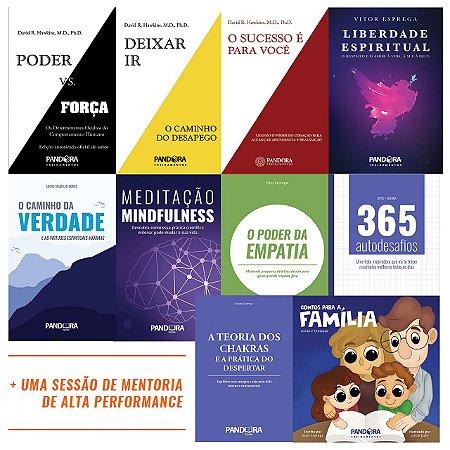 MEGA COMBO! Compre 10 livros e GANHE 1 sessão de Mentoria de Alta Performance!