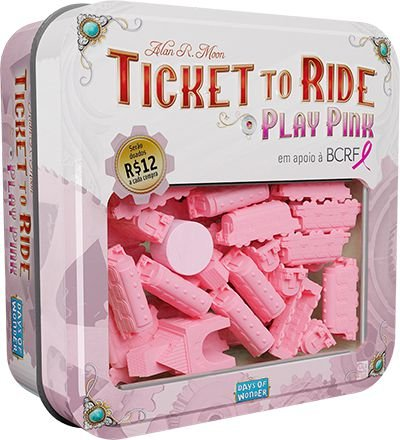 Ticket to Ride - Play Pink!