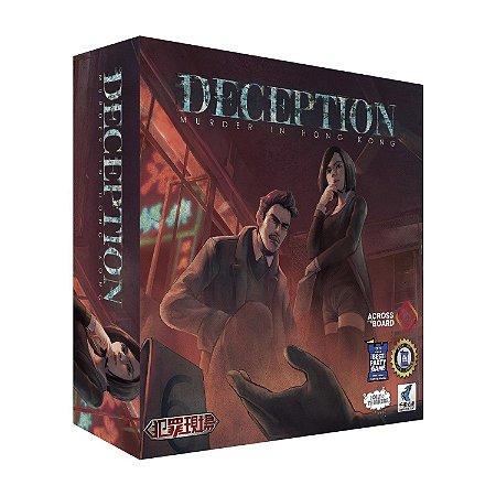 Deception: Murder in Hong Kong + cartas promo