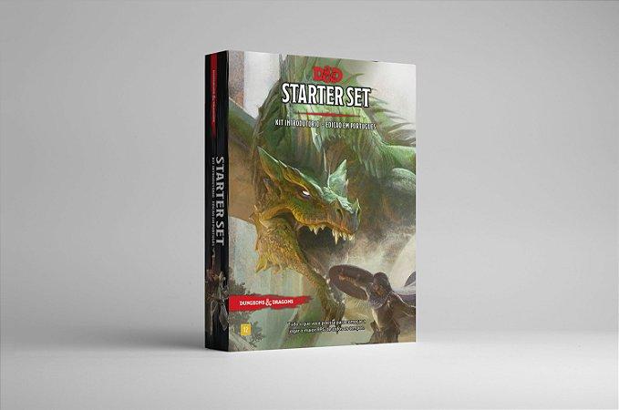 D&D Starter Set - Kit Introdutório - 5a. Edição em Português