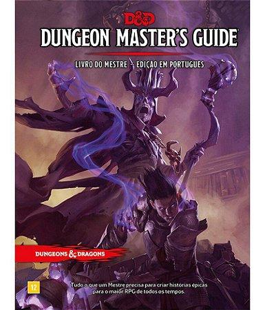 D&D: DUNGEON MASTER GUIDE - Livro do Mestre 5ª Ed.  em Português